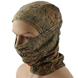 Magideal Tactical Outdoor Sports Balaclava Scarf Hunting Cycling Face Mask Camo 01