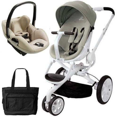Quinny CV078BFV Moodd Prezi Travel System With Diaper Bag