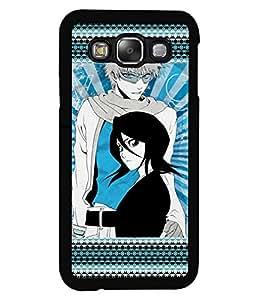 PRINTVISA My Girl Premium Metallic Insert Back Case Cover for Samsung Galaxy E5 - E500F - D5731