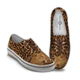 Women's Canvas Shoes: Leopard Luxe Women's Shoes by The Bradford Exchange: 6.5 M US women