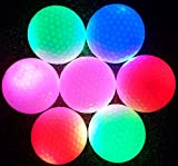 ネクシード(nexeed) 光る! LED ゴルフ ボール ナイト ゴルフ ボール 3個 セット 6個 セット (3個入り)