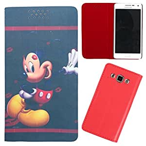 DooDa - For Sony Xperia T2 Ultra / T2 Ultra Dual PU Leather Designer Fashionable Fancy Flip Case Cover Pouch With Smooth Inner Velvet