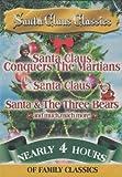 Santa Claus Classics (Santa Claus Conquers The Martians / Santa Claus / Santa & The Three Bears) [Import]