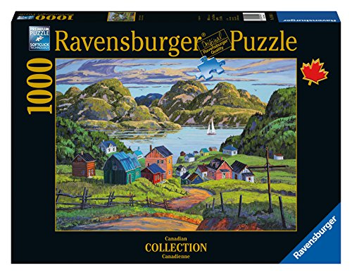 Ravensburger A Lake in Charlevoix Canadian Collection Canadienne Puzzle (1000-Piece)