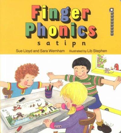 Finger Phonics Book 1 (S,A,T,I,P,N) Finger Phonics Book 1