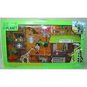 amazon   animal pla  wild animal rescue playset toys