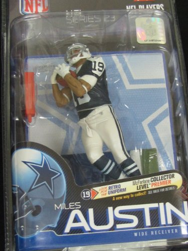 Collector Level Chase Variant Throwback uniform MILES AUSTIN Dallas Cowboys NFL 23 Figure by McFarlane Toys (only 250 produced) at Amazon.com