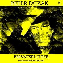 Privatsplitter Hörbuch von Peter Patzak Gesprochen von: Peter Patzak