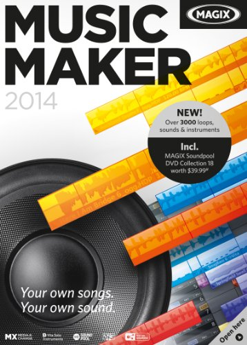 MAGIX Music Maker 2014 - Free Trial [Download] (Beat Maker Equipment compare prices)