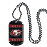 NFL San Francisco 49ers Dog Tag Necklace