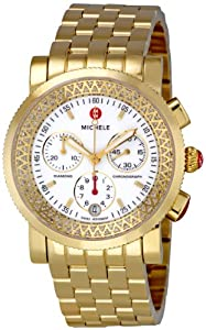 Michele Women's MWW01C000043 Sport Sail Chronograph Dial Watch