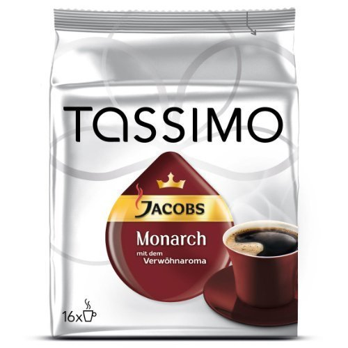 Tassimo T-Discs Jacobs Monarch (16 T-Discs) by Kraft Foods (Tassimo Cup Holder compare prices)