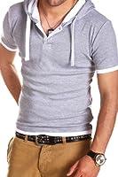 MT Styles - BS-691 - T-shirt 2 en 1 avec capuche intégrée