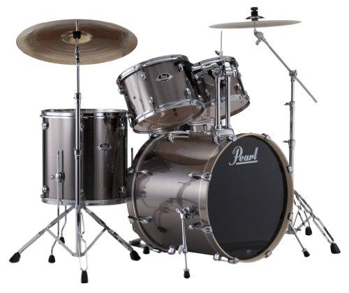 pearl-exx725-c-5-piece-export-standard-drum-set-with-hardware-smokey-chrome