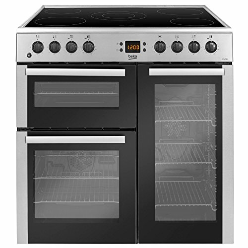 Beko BDVC90X 90cm Electric Range Cooker - Stainless Steel