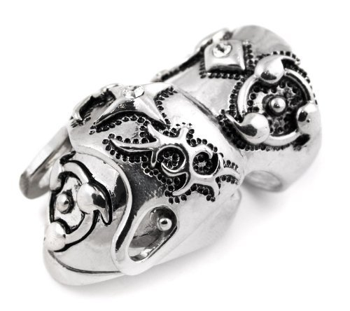 Conquistador Gothic Knuckle Ring