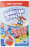 Hawaiian Punch To Go, Fruit Juicy Red, 8-Count Packets (Pack of 12)