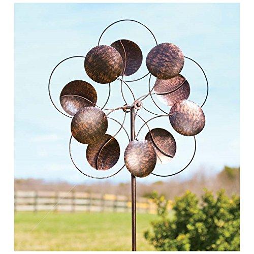 Metal Circle Garden Wind Spinner