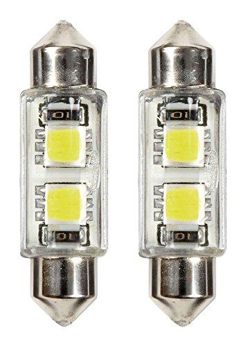 Ring RW2396LED 2 Lampade LED, 12V, C5W 6000K, Bianco