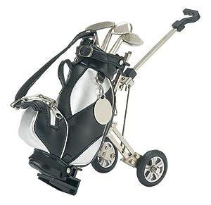 Golf Pens with Golf Bag Holder, 4-Piece Set by HomeWetBar