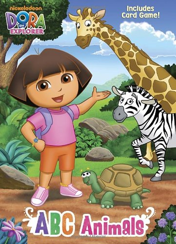ABC Animals (Dora the Explorer) (Color Plus Card Stock)