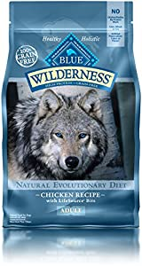Blue Buffalo Wilderness Adult Dog Chicken Formula - Grain Free 4.5 lb