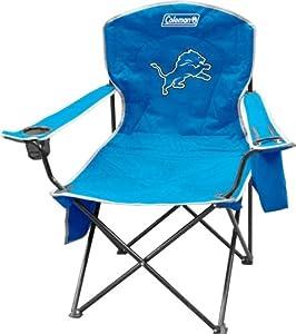 Detroit Lions Xl Cooler Quad Chair by Hall of Fame Memorabilia