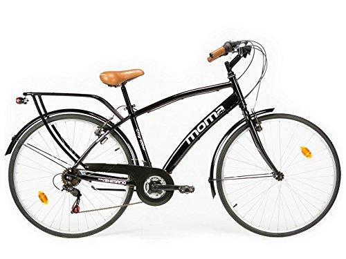 """Bicicletta Passeggio Citybike SHIMANO. Alluminio, 18 velocità, ruota da 28"""""""