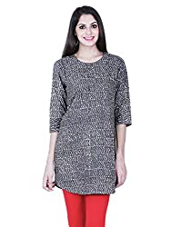 Aana Aana Dobby Anchor Kurta-Medium