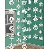 2.1m Snowflake String Decoration (Pk6)