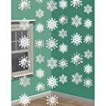 2.1m Snowflake String Decoration (Pk6)