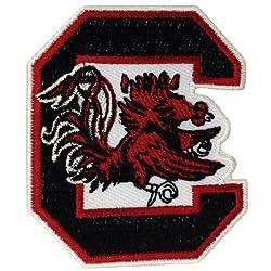 South Carolina Gamecocks Logo Embroidered Iron Patches