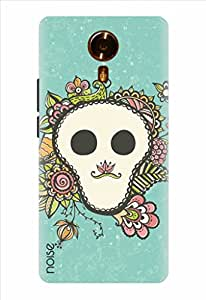 Noise Skully Flower Frame Printed Cover for Micromax Canvas Xpress 2 E313