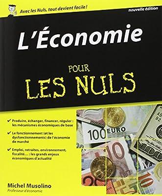 L'économie pour les nuls par Michel Musolino