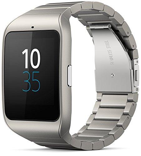 Sony-Mobile-SWR50MT-SWR50-Smartwatch-3-Compatibile-con-Android-43-Argento
