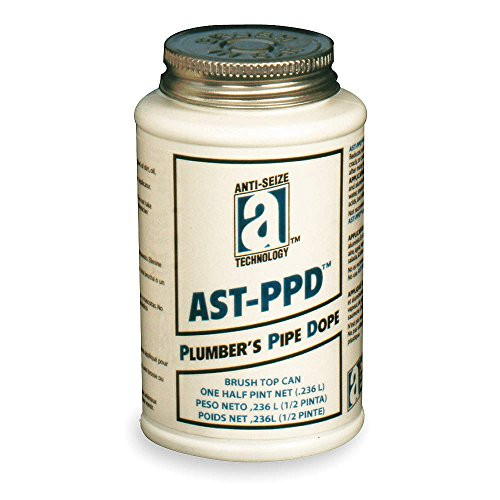 AST-PPD 25118 Plumbers Pipe Dope, Professional Grade, 1 pint, Tan (Plumbers Pipe Dope compare prices)