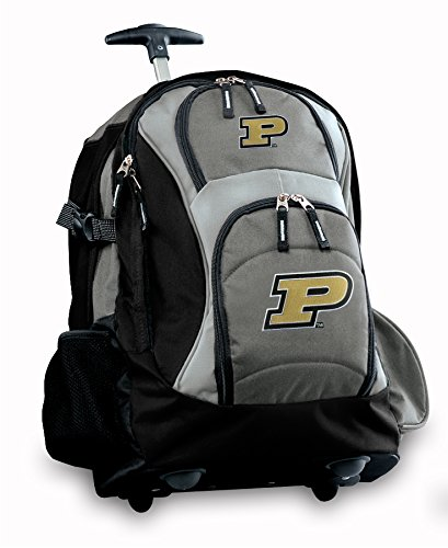 Purdue Rolling Backpack Deluxe Gray Purdue University Best Backpacks Bags With