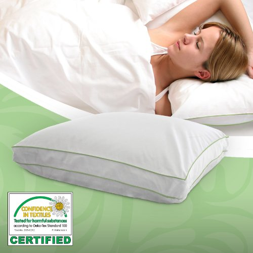 Utopia Adjustable Memory Foam Pillow w/ MicroMax