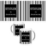 ToduGift Attitude is everything mug