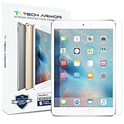 Tech Armor Apple iPad Mini 4 (2015) Premium Ballistic Glass Screen Protector - Protect Your Screen from Scratches and Drops