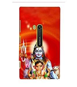 Ganeshvara 3D Hard Polycarbonate Designer Back Case Cover for Nokia Lumia 920 :: Microsoft Lumia 920
