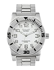 OMAX ANALOG STAINLESS STEEL CASUAL WATCH FOR MEN (MONTRES OMAX S.A. - A SWISS WATCH COMPANY) ... - B00ATAZVCI