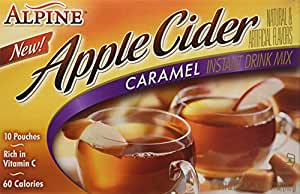 Alpine Spiced Cider, Caramel Apple, 5.7 Ounce (Pack of 2)