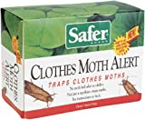 Safer Brand 07270 Clothes Moth Alert Trap