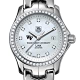 TAG HEUER watch:Wake Forest University TAG Heuer Watch - Women's Link with Diamond Bezel at M.LaHart