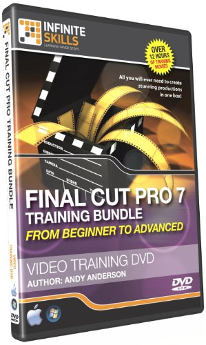 Infinite Skills Beginners to Advanced Final Cut Pro  Video Training Bundle (PC/Mac)