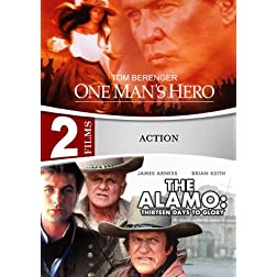 The Alamo: Thirteen Days To Glory / One Man's Hero - 2 DVD Set (Amazon.com Exclusive)