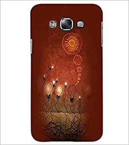 PrintDhaba Painting D-3957 Back Case Cover for SAMSUNG GALAXY A7 (Multi-Coloured)