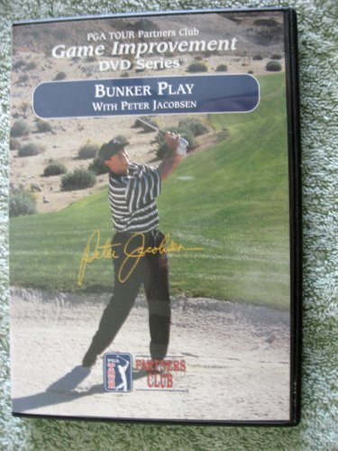 Bunker Play With Peter Jacobsen - Pga Tour Players Club - Game Improvement Series - Dvd - Golf Instruction