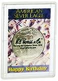 American Silver Eagle Case Happy Birthday!